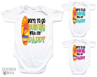 ROMPER printed with SURF-JAM-LIVE IN A VAN BABY ONE PIECE