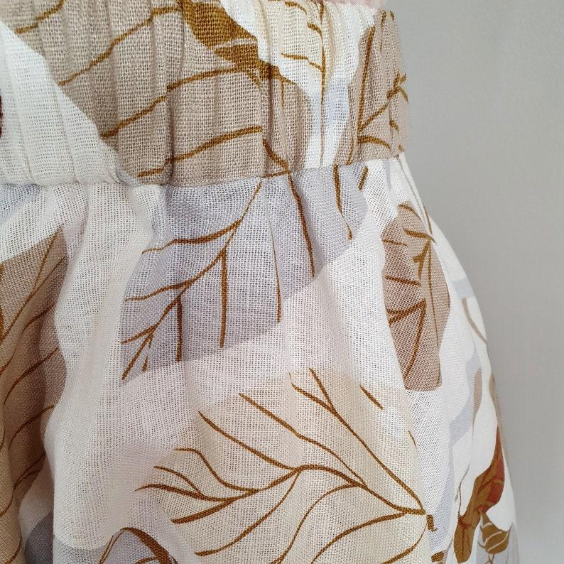 SAMPLES Autumn Leaves Circle Skirt SALE