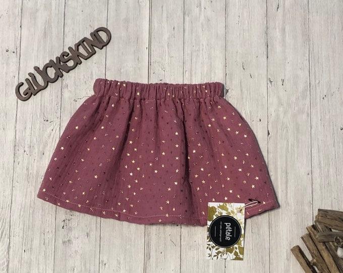 Muslin baby skirt children's skirt muslin skirt baby skirt children's frocks 80