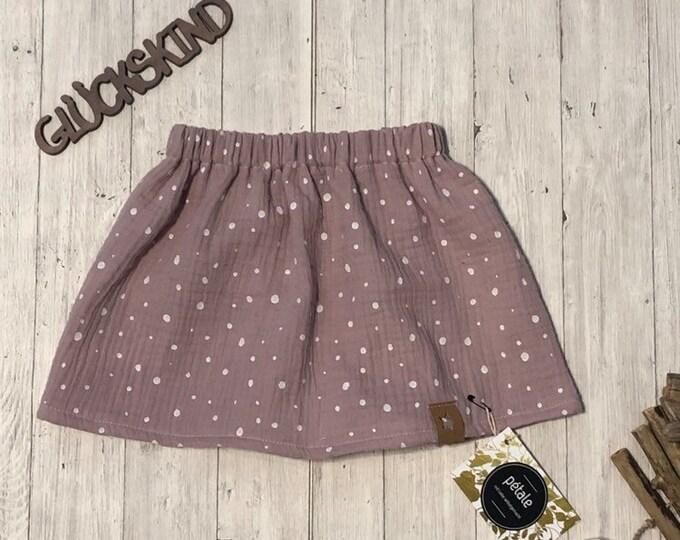 Muslin baby skirt children's skirt muslin skirt baby skirt children's frocks 86