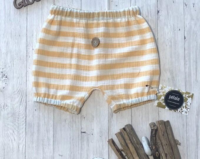 Short Musselin Pants Pumphose 74 shorts summer Pants