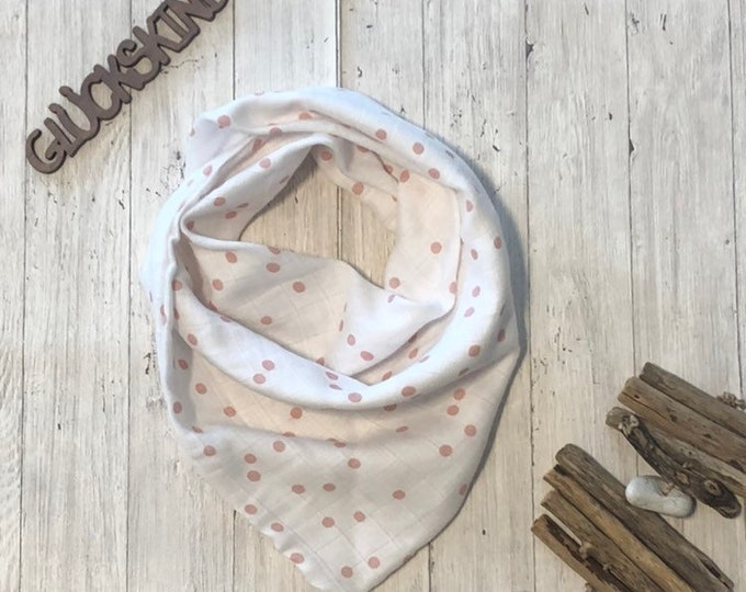 Muslin Cloth Children Double Gauze Musselintuch Triangular Cloth