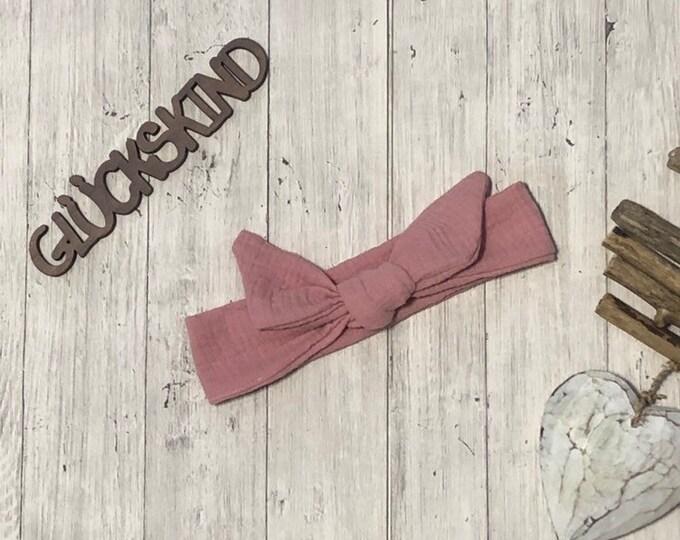 Muslin hairband to knot headband 43-50