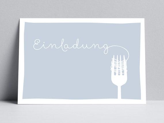 essen einladung