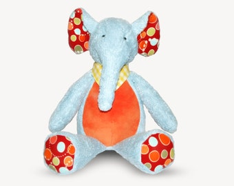 "Schnittmuster Elefant ""KUMI"" PDF-eBook"