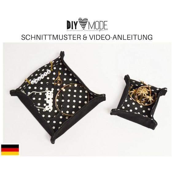 SCHMUCK-UTENSILO Schnittmuster mit Video-Anleitung / PDF   Etsy