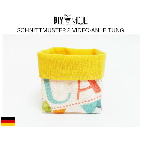 MINI-UTENSILO Schnittmuster mit Video-Anleitung / PDF Download   Etsy