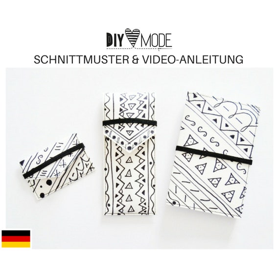 SCHREIBTISCHSET 3 Schnittmuster Video-Anleitung / PDF | Etsy