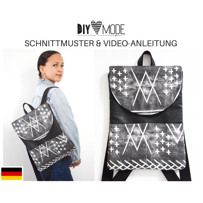 60274cc59ed70 RUCKSACK Schnittmuster mit Video-Anleitung   PDF Download