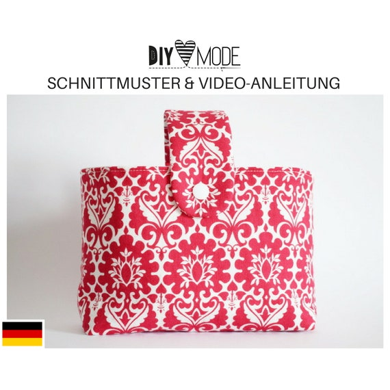STOFFKORB Schnittmuster mit Video-Anleitung / PDF Download | Etsy