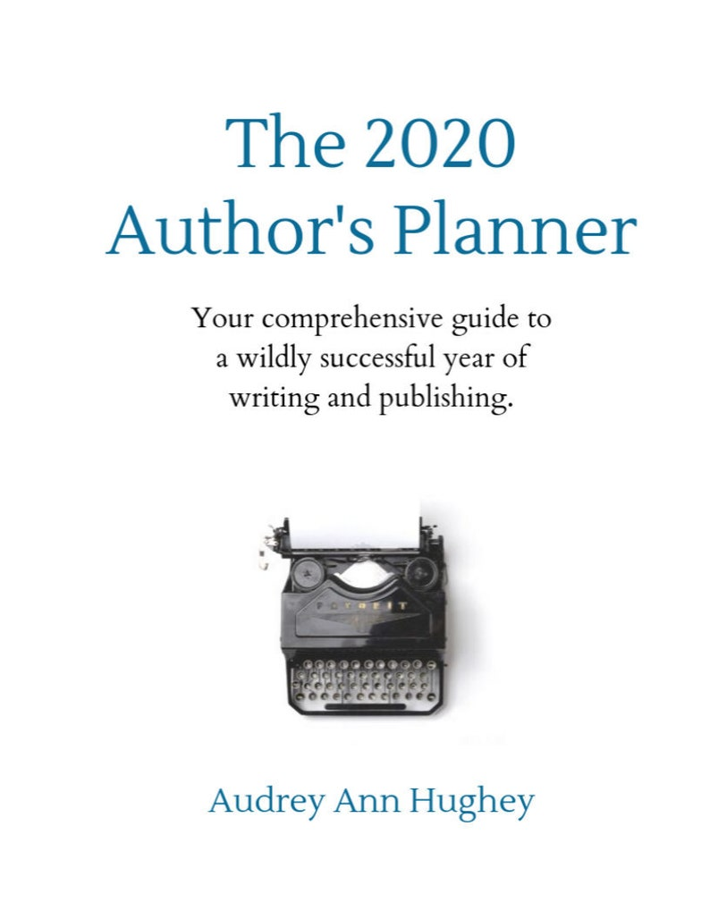 The 2020 Author's Planner  Printable image 0