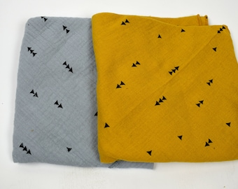 Musselin Triangular Cloths