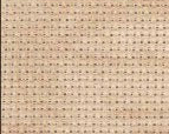 Vintage Country Mocha Aida Orphan Fabric (undyed)