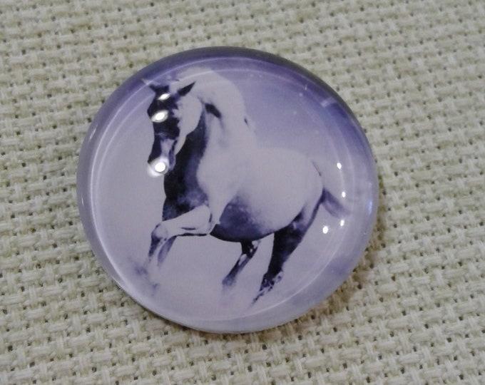 White Running Horse Needle Minder (0073)