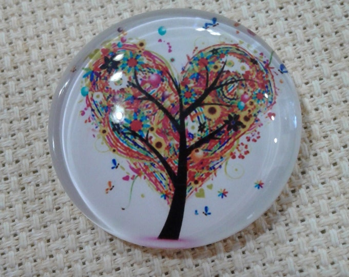 Heart Tree of Life w/ Sunflowers Needle Minder (0063)
