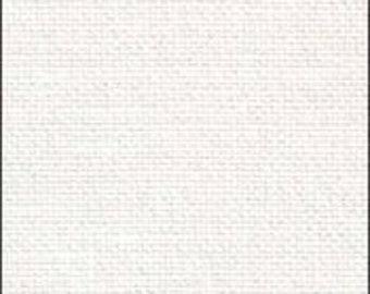 32 ct White Opalescent Belfast Linen from Zweigart
