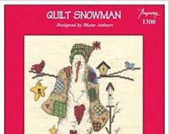 Quilt Snowman by Imaginating