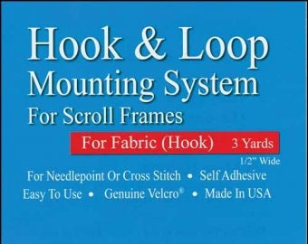 Hook & Loop No Basting System for Scroll Bars (Hook part for fabric)