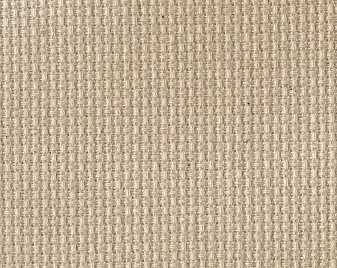 Coffee-dyed Orphan Fabric Traditional Effect 14 count 10x14