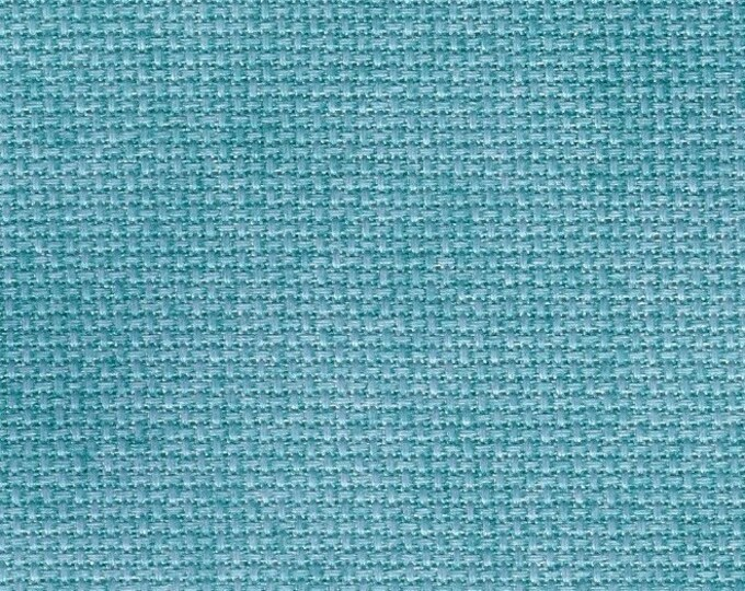 Peacock Orphan Fabric Traditional Effect 14 count 6 x 14