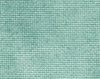 Verdigris Orphan Fabric Traditional Effect 16 count 5 x 14
