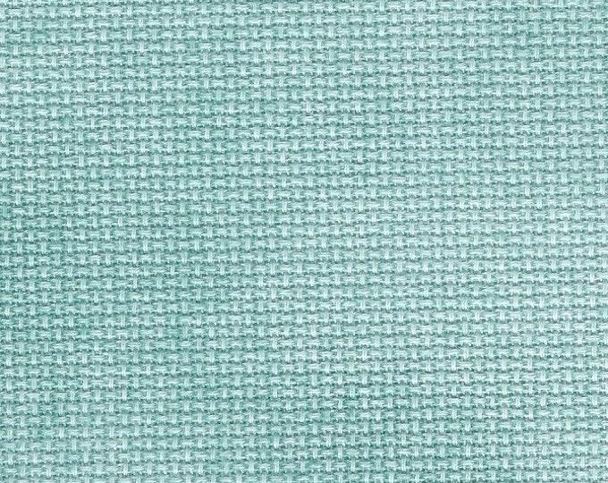 Aqua Orphan Fabric Traditional Effect 16 count 5 x 17