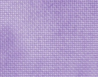 Purple Passion Orphan Fabric Traditional Effect 16 count 4 3/4x18