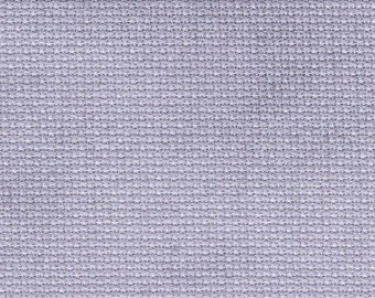 Purple Lilac Orphan Fabric Traditional Effect 18 count 5x29