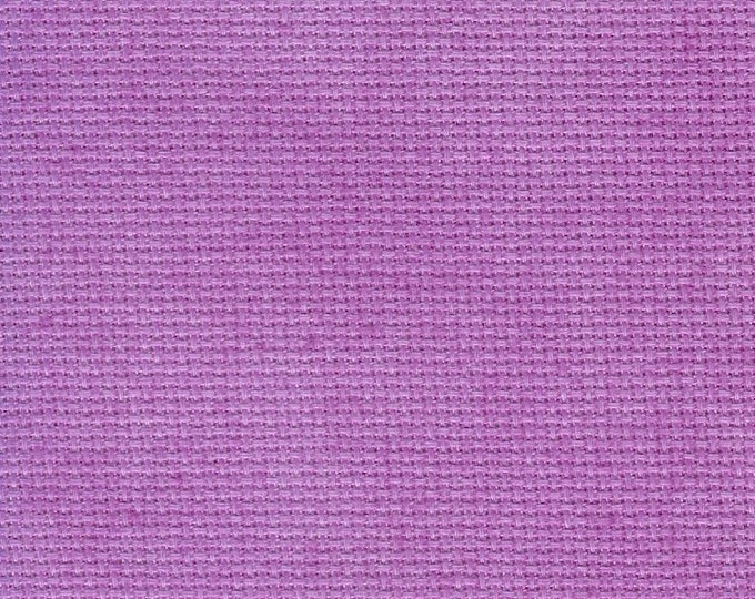Violet Craze Opalescent Traditional Hand-dyed Aida