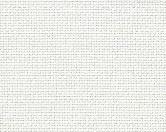Winter White Orphan Fabric Solid Effect 14 count 14 1/4 x 16 1/2