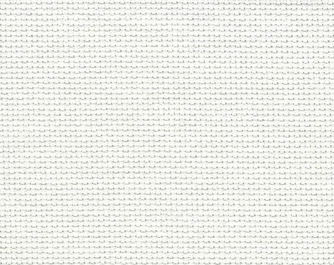 Winter White Orphan Fabric Solid Effect