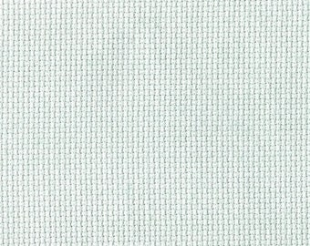 Beach Glass Orphan Fabric Solid Effect 18 count 13 1/2 x 17 1/2