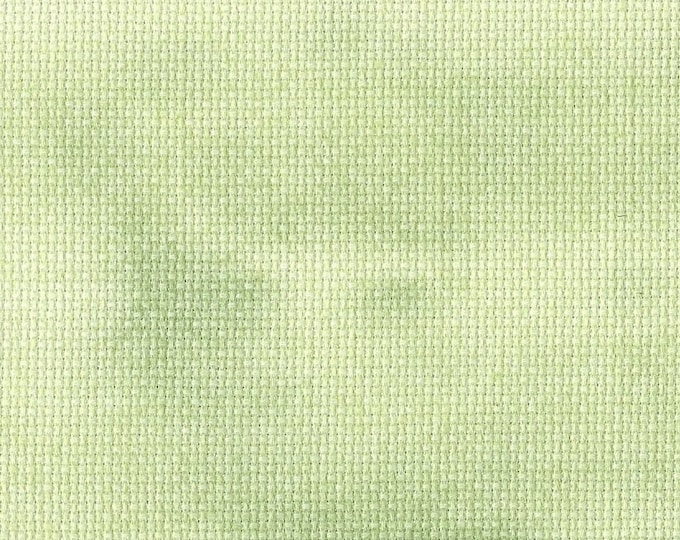 Wild Wasabi Opalescent Traditional Hand-dyed Aida