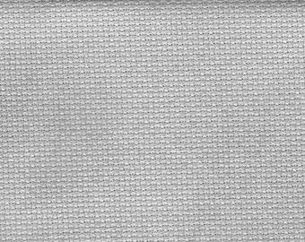 Pewter Orphan Fabric Traditional Effect 18 count 9x15 or 10x15