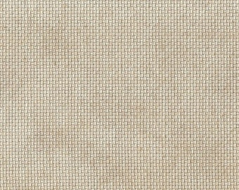 Cafe Au Lait Orphan Fabric Traditional Effect 16 count 9  x 19