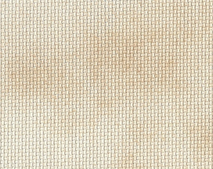 Caramel Creme Orphan Fabric Traditional Effect 18 count 11 x 21
