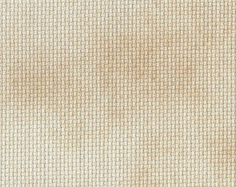 28 ct Caramel Creme Traditional Hand-dyed Evenweave