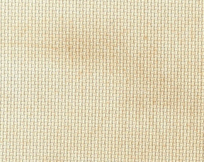 Gingersnap Orphan Fabric Traditional Effect 18 count 11x14