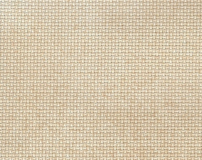 Caramel Creme Orphan Fabric Solid Effect 16 count 6 x 14