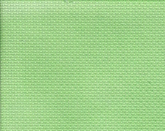 Shamrock Orphan Fabric Traditional Effect 18 count 7x29