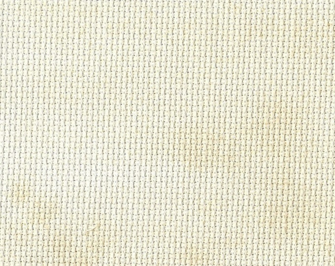 Almond Butter Orphan Fabric Traditional Effect 14 count 4x29
