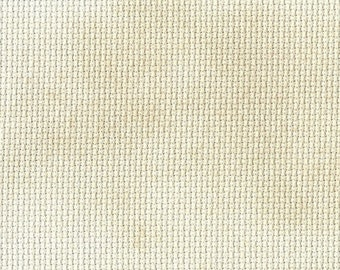 Irish Cream Orphan Fabric Traditional Effect 14 count 12 x 17 1/2