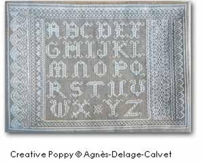 Lace Alphabet Sampler by Agnes Delage-Calvet