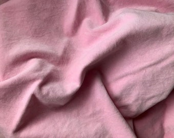 """Cotton Velveteen (Blossom) from Lady Dot Creates hand-dyed 10"""" x 18"""" fat eighth 100% cotton"""