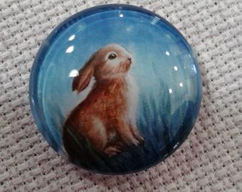 Bunny in Midnight Meadow Needle Minder(0059)