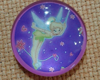 Flying Tinkerbell with Flowers Needle Minder (0105)