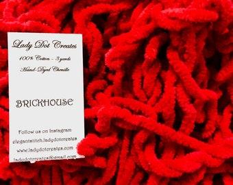 "1/4"" Chenille Trim (Brickhouse) by Lady Dot Creates"