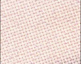 14 ct Pink Irridescent Aida 15x18