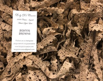 Cotton Lace Trim (Buster Brown) by Lady Dot Creates