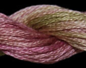 Shortcake (01081) Threadworx over-dyed embroidery threads